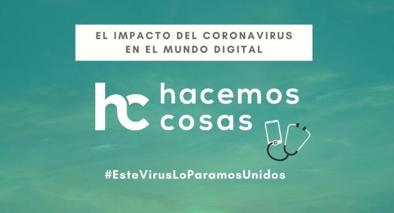 El impacto del coronavirus en el mundo digital