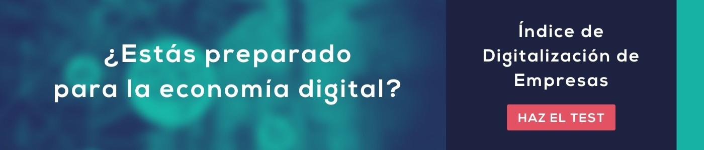 Índice de digitalización de empresas test