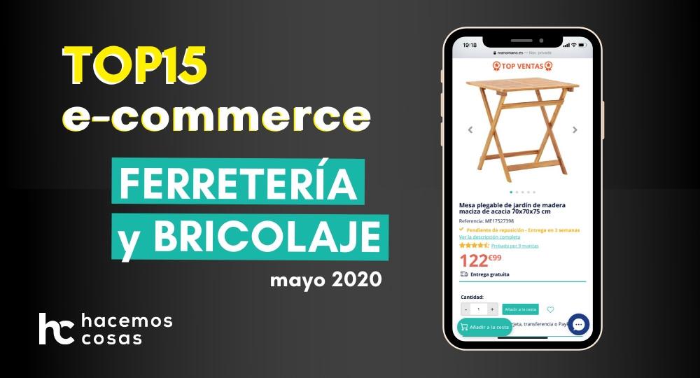 Análisis de los mejores e-commerce de ferretería y bricolaje en España